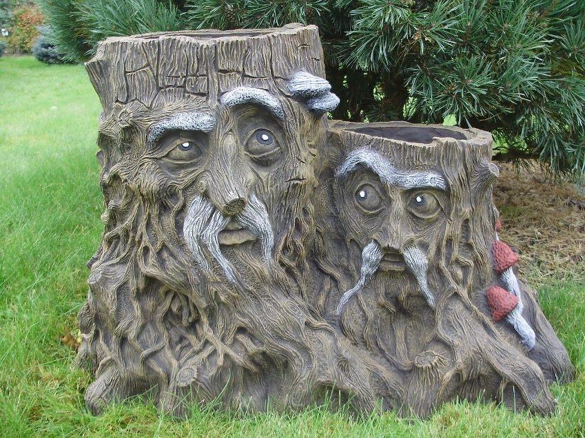 Садовая скульптура из бетона своими руками