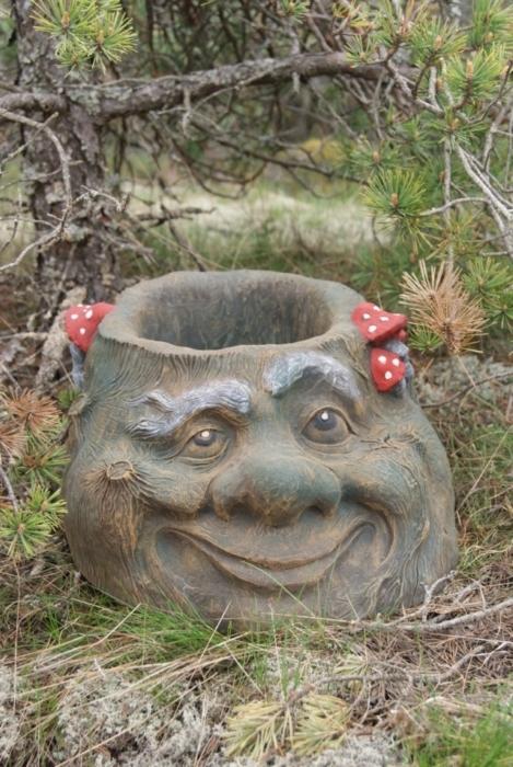 Из чего сделать садовую скульптуру